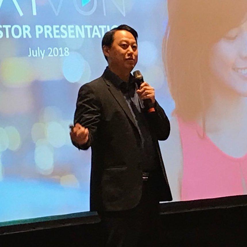 Rew Wong, CEO, AIVON